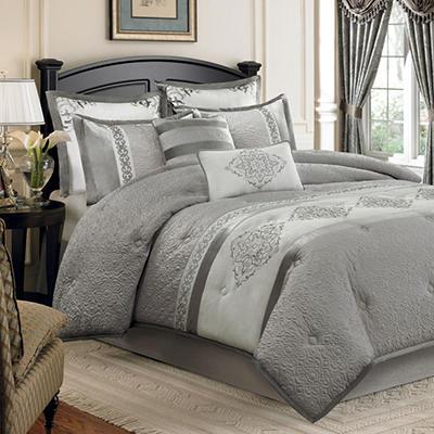 Montclair Luxury 8-Piece Bedding Set - King or Queen