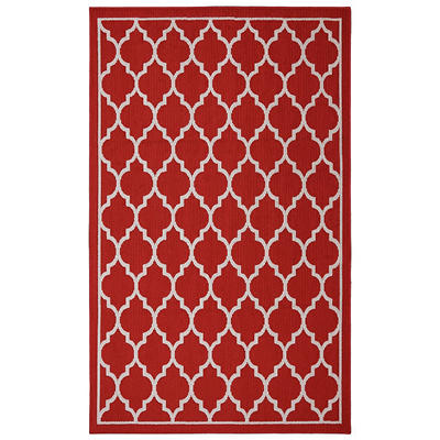 "Mohawk Color Wheel Collection - Chai Accent Rug 30"" x 46"" - Red"