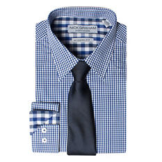 Nick Graham Men's Shirt & Tie Set