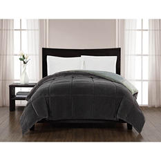 Reversible Velvet to Jersey Comforter - Various Sizes & Colors