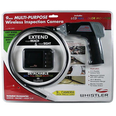 Whistler WIC-2409CP Wireless Inspection Camera with Accessory Pack
