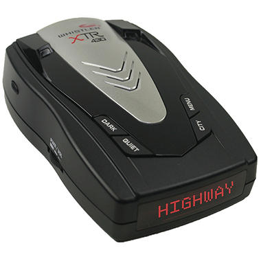 Whistler XTR-430M Laser-Radar Detector with Socket Multiplier