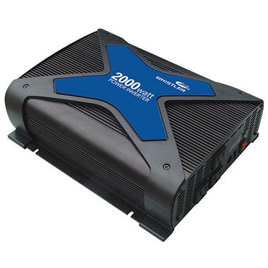 Whistler - 2000 Watt - Power Inverter includes 3' Battery Cables