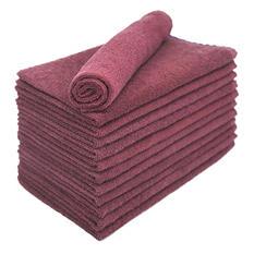 Bleachsafe® Salon Hand Towels - Wine - 24 pk.