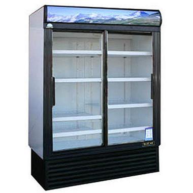 BlueAir Merchandiser Refrigerator 2 Sliding Doors