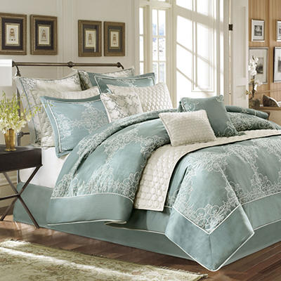 """Crawley"" Luxury 12 Piece Bedding Set - Various Sizes"