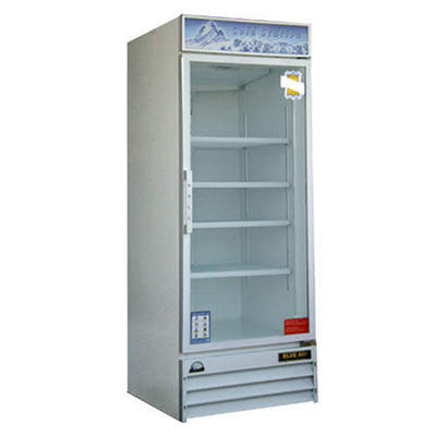 BlueAir Glass Door Merchandiser - White  24 cu. ft