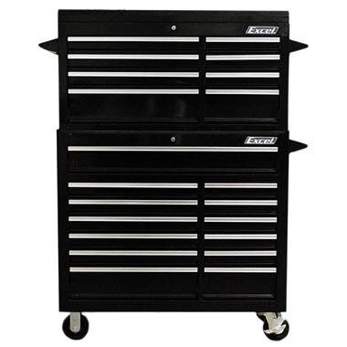 "Excel Tool Box - 42"" Top Chest and Roller Cabinet Combination"