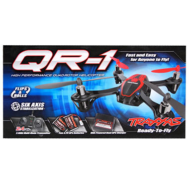 QR-1 Quad-Rotor Ready-To-Fly Helicopter - Blue