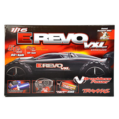 1/16 Revo VXL Read To Race Car - Red
