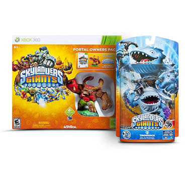 Skylanders Giants Portal Owners Pack with 1 Extra Giant Single