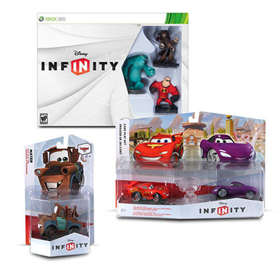 Disney Infinity Start Pack with Cars Play Set and Single Figure Pack