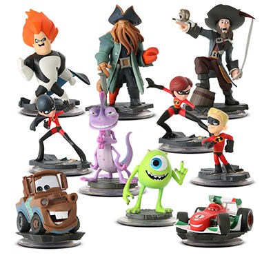Disney Infinity Single Figure Pack Launch Collection