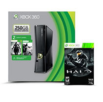 Xbox 360 250GB Spring Console with Darksiders 2, Batman Arkham City and 1 Extra Game (you choose)