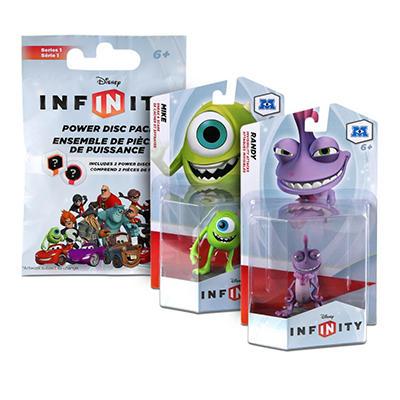 Disney Infinity Bundle of 2 Figures and Bonus Power Disc Pack - Monster Inc.