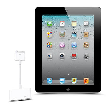 Apple iPad 2 w/ Digital AV Adapter