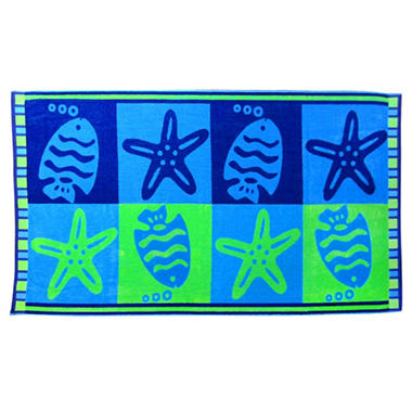 "Member's Mark Beach Towel - Various Designs - 40"" x 72"""