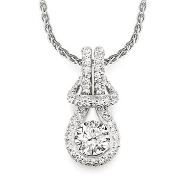 0.50 ct. t.w. Everlon™ Diamond Pav� Pendant (I, I1)