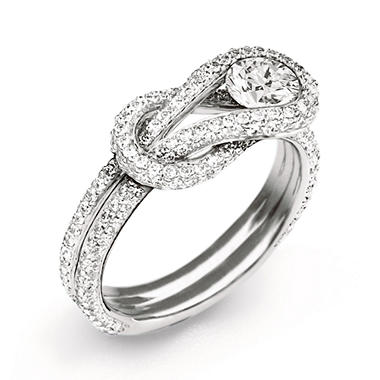 .75 ct. t.w. Everlon™ Diamond Knot Ring (I, I1)