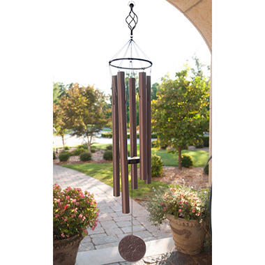 Wind Chime Bronze Medallion