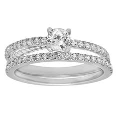 .50 ct. t.w. Diamond Engagement Set in 14K White Gold