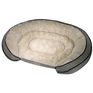 PoochPlanet Grand Comfort Pet Bed (42 x 30)