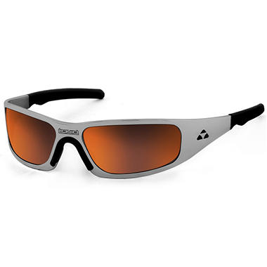 Gasket Black Nickel Frame Sunglasses - Red Mirror Polarized Lens