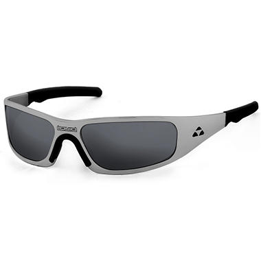 Gasket Black Nickel Frame Sunglasses - Smoke Polarized Lens
