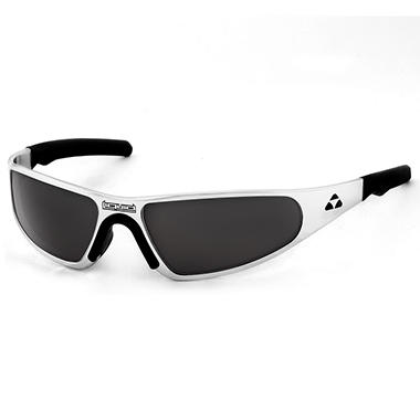 Player Polished Frame Sunglasses - Smoke Polarized Lens