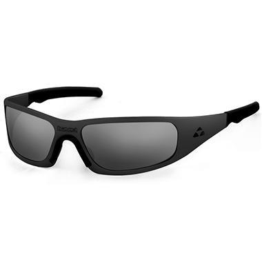Gasket Black Matte Frame Sunglasses - Mirror Polarized Lens