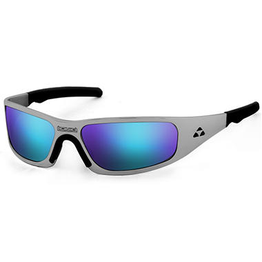Gasket Black Nickel Frame - Blue Mirror Polarized Lens