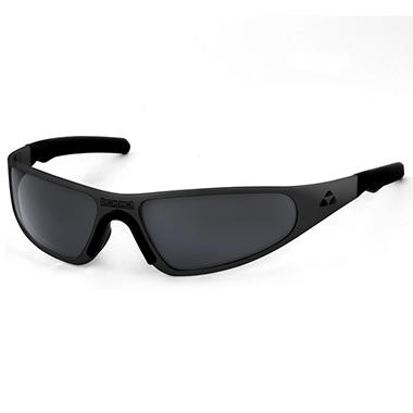 Player Matte Black Frame Sunglasses - Smoke Mirror Polarized Lens
