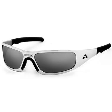 Gasket Polished Frame Sunglasses - Mirror Polarized Lens