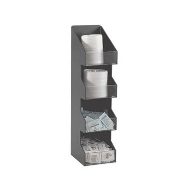 Diversified Metal Vertical 4 - Section Dispenser