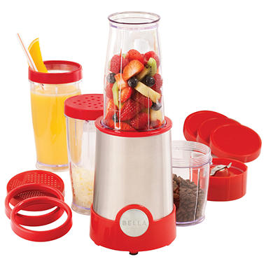 Bella 20 Piece Rocket Blender - Red