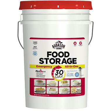 Augason Farms 30-Day Food Storage Emergency All-in-One Pail