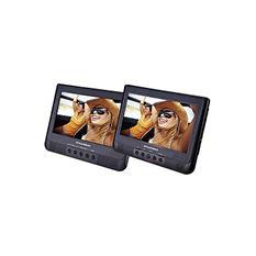 """Sylvania 10.1"""" Dual Screen Portable DVD Player - 336 units"""
