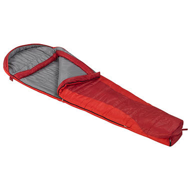 Ridgeway by Kelty Zero Degree Mummy Sleeping Bag - Red