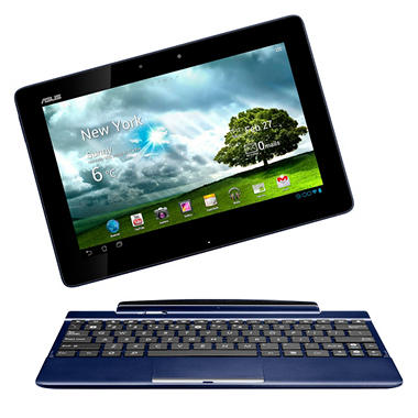 "ASUS TF300T 32GB 10"" Tablet w/ Keyboard Dock – Blue"