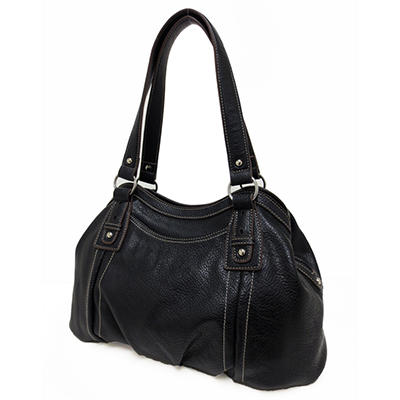 Ellen Tracy Satchel Bag - Black