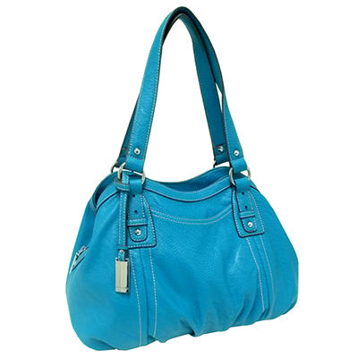Ellen Tracy Satchel Bag - Blue