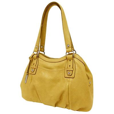 Ellen Tracy Satchel Bag - Buttercup