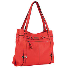 Ellen Tracy Tote Bag - Red