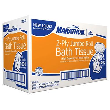 Marathon® 2-Ply Jumbo Roll Bath Tissue