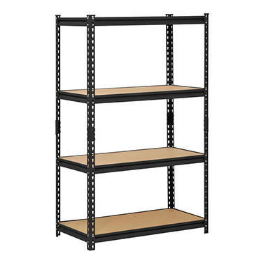Edsal 4-Shelf Steel Shelving Unit - 60