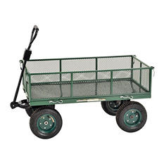 "Sandusky Heavy Duty Steel Jumbo Crate Wagon - 48"" x 24"""