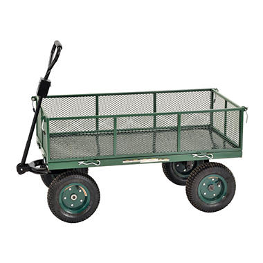 Sandusky Heavy Duty Steel Jumbo Crate Wagon - 48