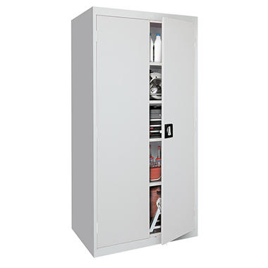 "Sandusky Elite Welded Steel Storage Cabinet - 36""W x 18""D x 72""H"