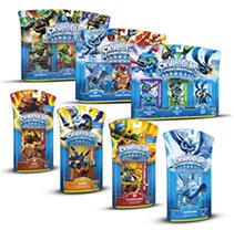 Skylanders Character 3pk and Bonus Single Character (you choose)