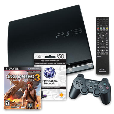 Sony PS3 160GB Console Starter Bundle